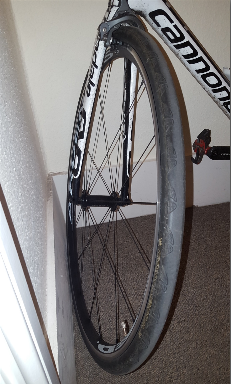 how to tell rim width with tire on