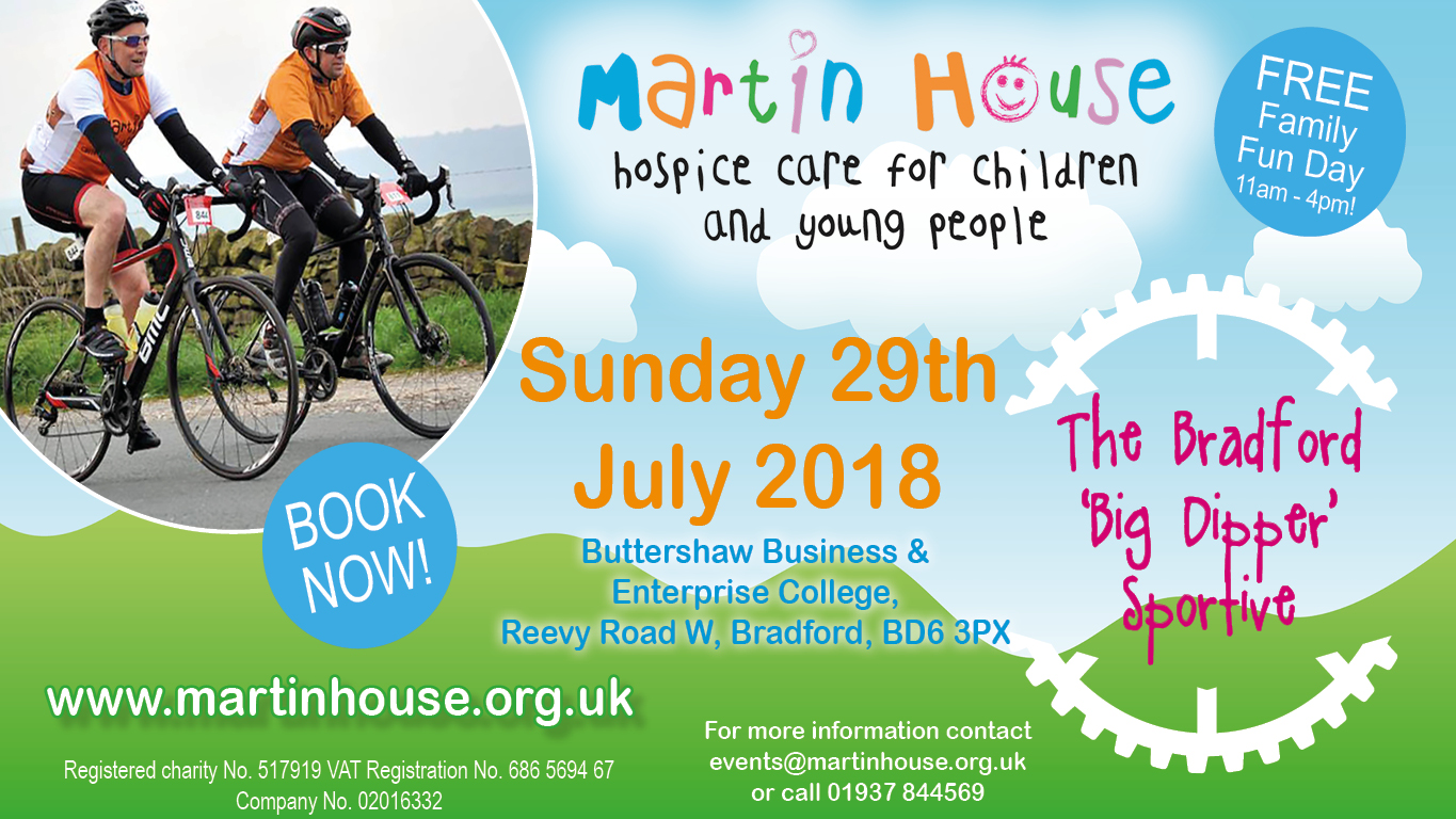 The Bradford Sportive in aid of Martin House