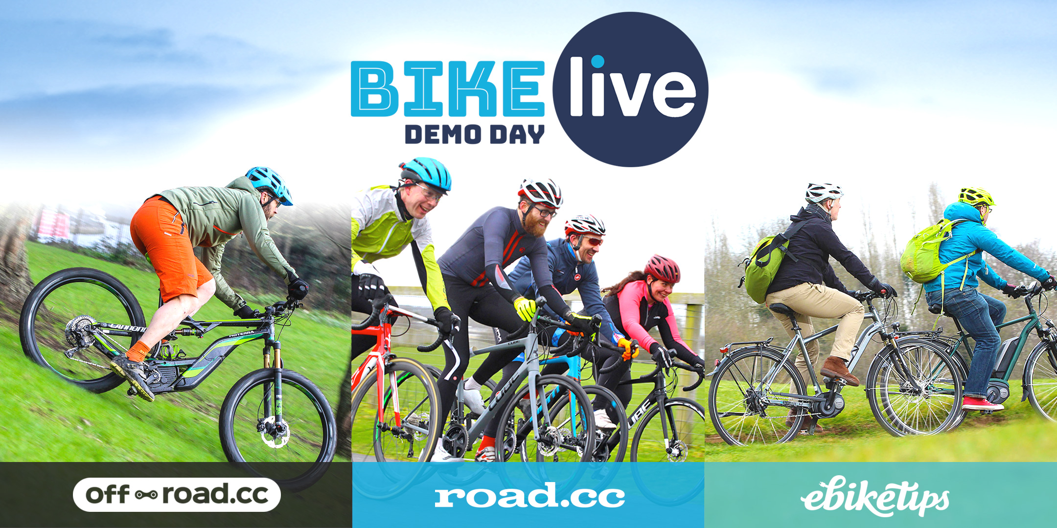 BikeLive London demo day Mar 2018 from road.cc, ebiketips and off-road.cc
