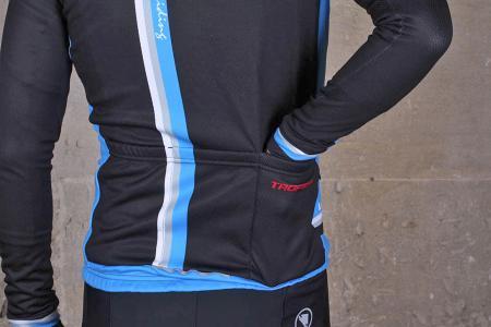 Lusso Trofeo Long Sleeved Jersey - back pocket