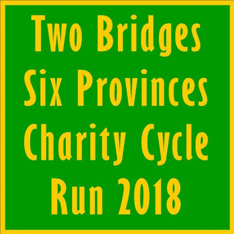 The Two Bridges Six Provinces Charity Cycle Run 2018