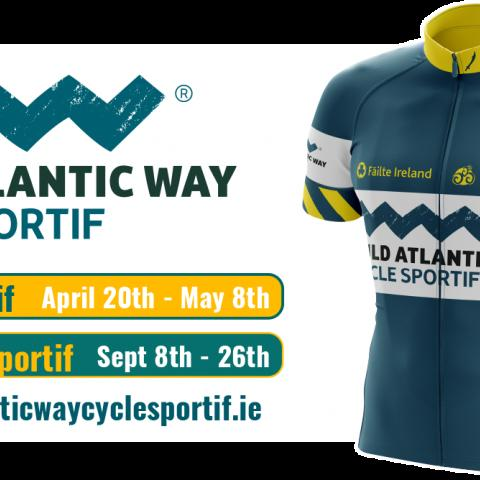 The Wild Atlantic Way Cycle Sportif is a 16 stage, fully - supported cycling event along 2,100 kms of the Europe's longest coastal cycling route in Ireland. Cyclists can sign - up for a Single Day Stage, a Block of 4 Stages or the Full Tour. We have something for everyone!