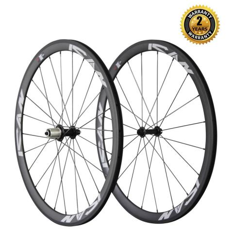 38mm carbon wheelset