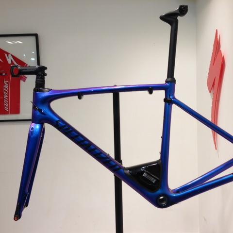 2017 Roubaix Pro Frame. S-Works standard FACT 11r carbon