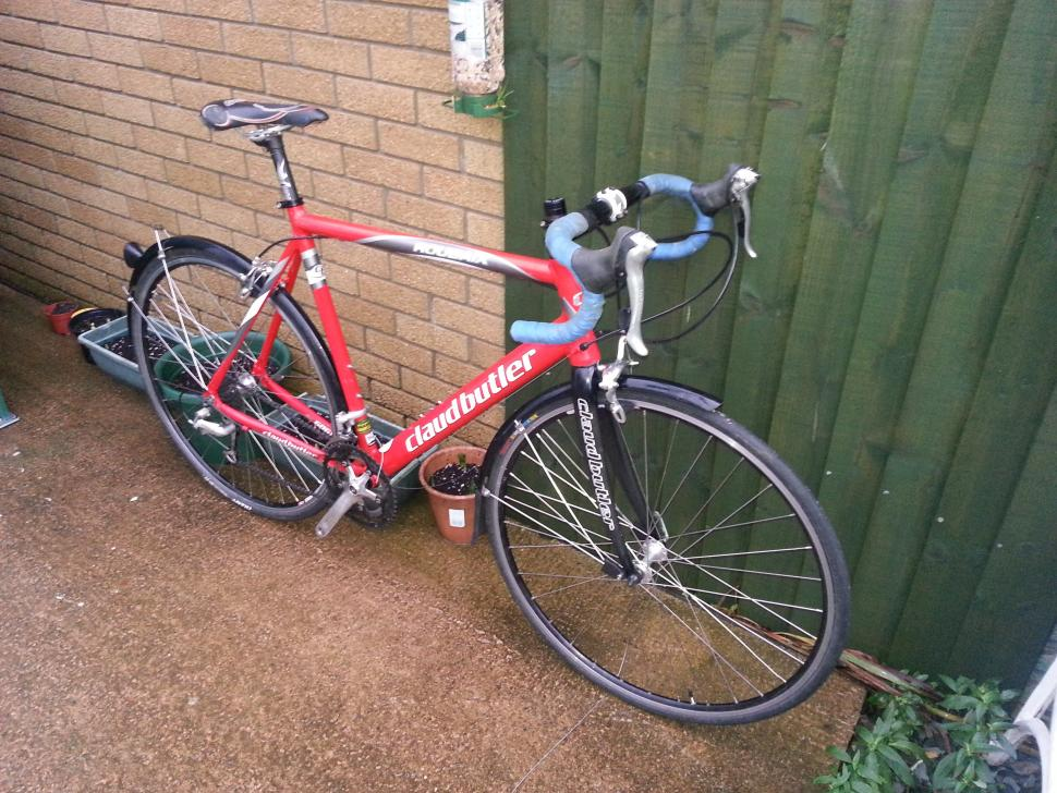 For sale Claud Butler Roubaix road racing bike Large 29500 roadcc