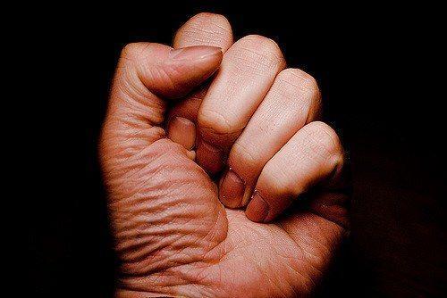 Fist (c) Mark Ramsay Flickr