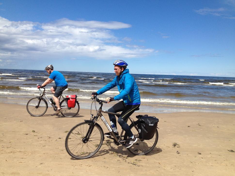 Baltics - beach riding.JPG