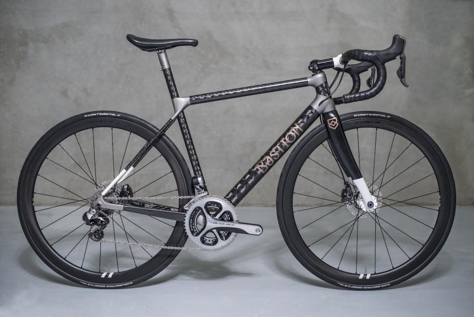 Bastion launches 3D printed titanium and carbon fibre road bike ...