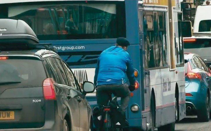 Bath cyclist in traffic (via iPlayer).jpg