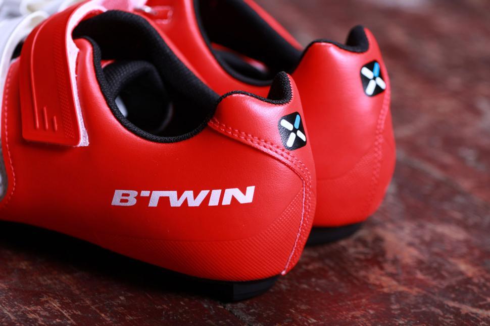 BTwin 500 Road Cycling Shoes - heel.jpg