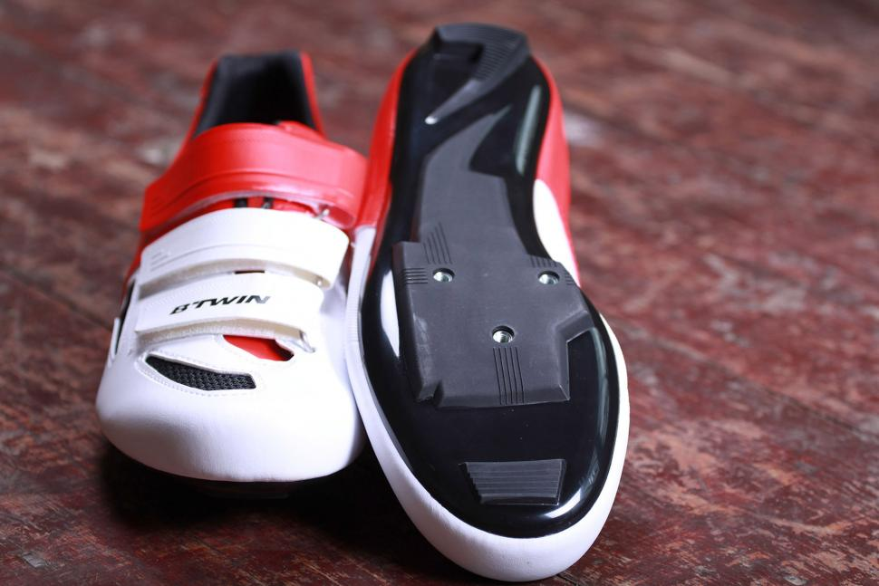 BTwin 500 Road Cycling Shoes - sole.jpg