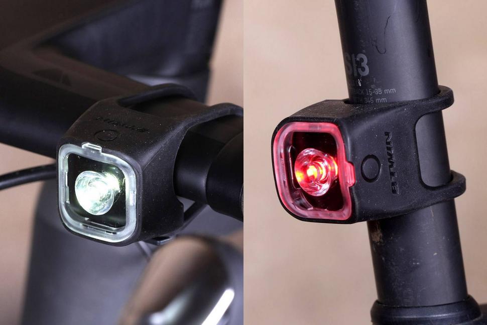 Review Btwin Vioo 320 Usb Dual Bike Light Road Cc