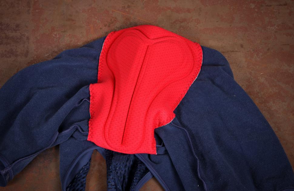 Cafe du Cycliste Adele Cobalt Blue Thermal Bib Shorts - pad.jpg