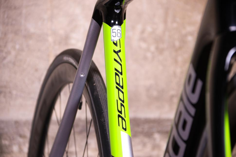 Cannondale Synapse Hi-Mod Disc Dura-Ace Di2 - seat tube detail.jpg