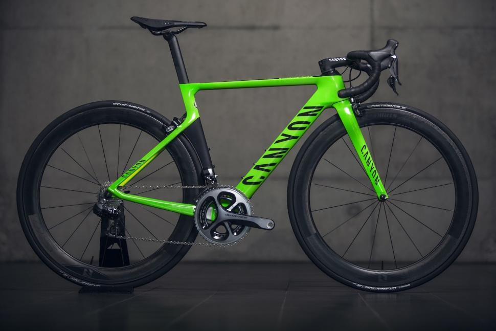 Canyon Reveals Custom Painted Bikes For Rio Athletes Road Cc