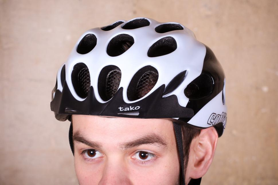 Catlike Tako White-Black Helmet - front_.jpg
