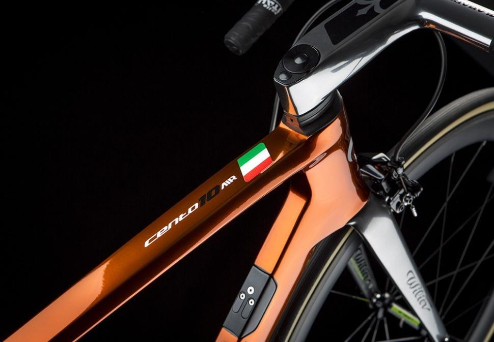 Lightest Road Bike >> Wilier's Cento10Air fuses modern frame with traditional ramato finish | road.cc