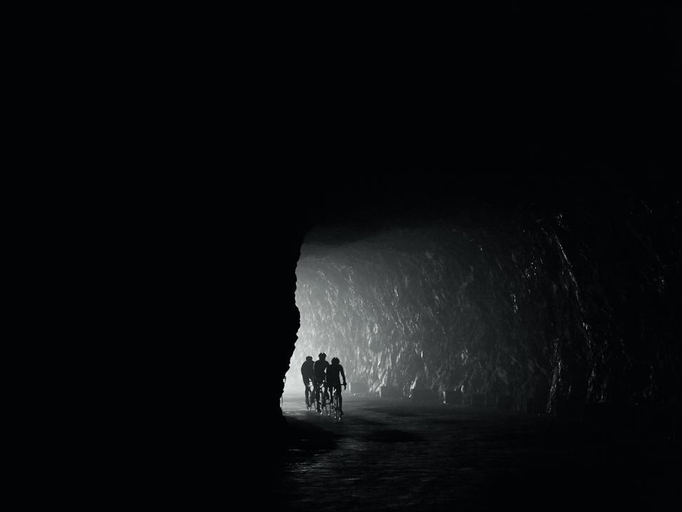 Copyright Michael Blann Col' d'Aubisque, one of two tunnels through the Cirque du Litor.jpg