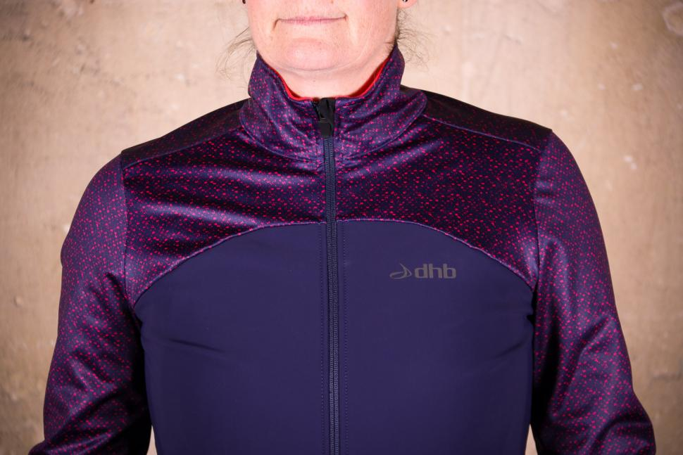 dhb Aeron Women's Full Protection Softshell - chest.jpg