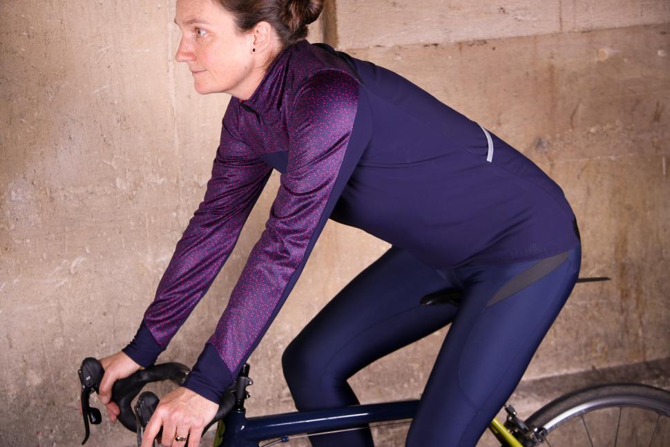 dhb Aeron Women's Full Protection Softshell - riding.jpg