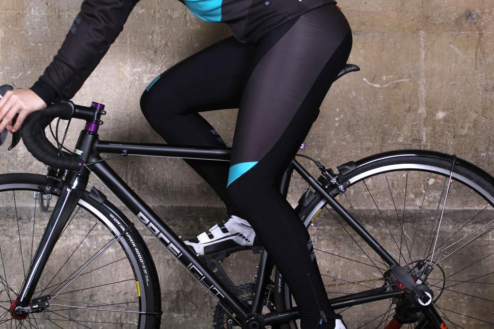 dhb Womens ASV Roubaix Bib Tight - riding.jpg