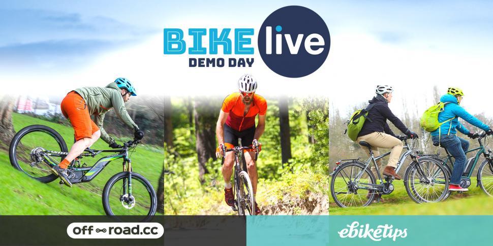 BikeLive Cannock demo day road.cc live April 2018