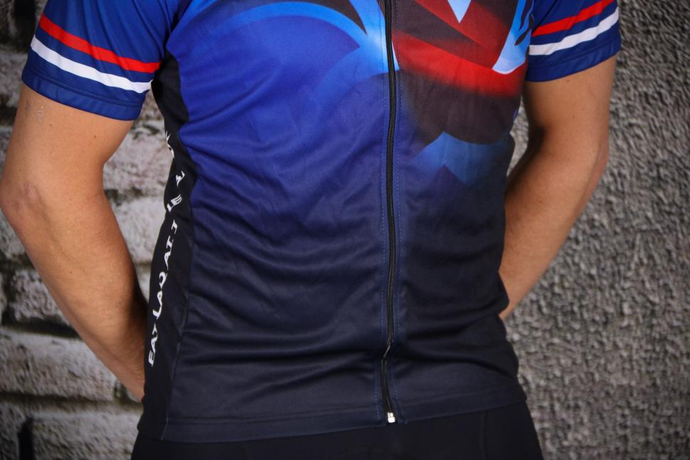 Fat Lad At The Back Men's Short Sleeve Union Jack Cycling Jersey - hem.jpg