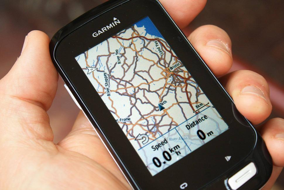 Garmin Edge 1000 map with datajpg
