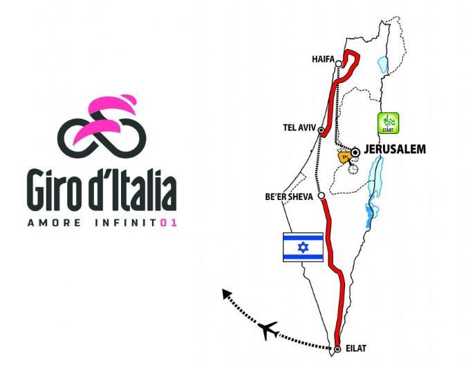 Giro d'Italia 2018 Big Start overview Israel.PNG