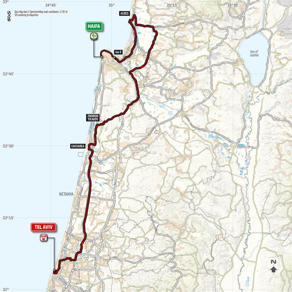 Giro d'Italia 2018 Stage 02 map.jpg