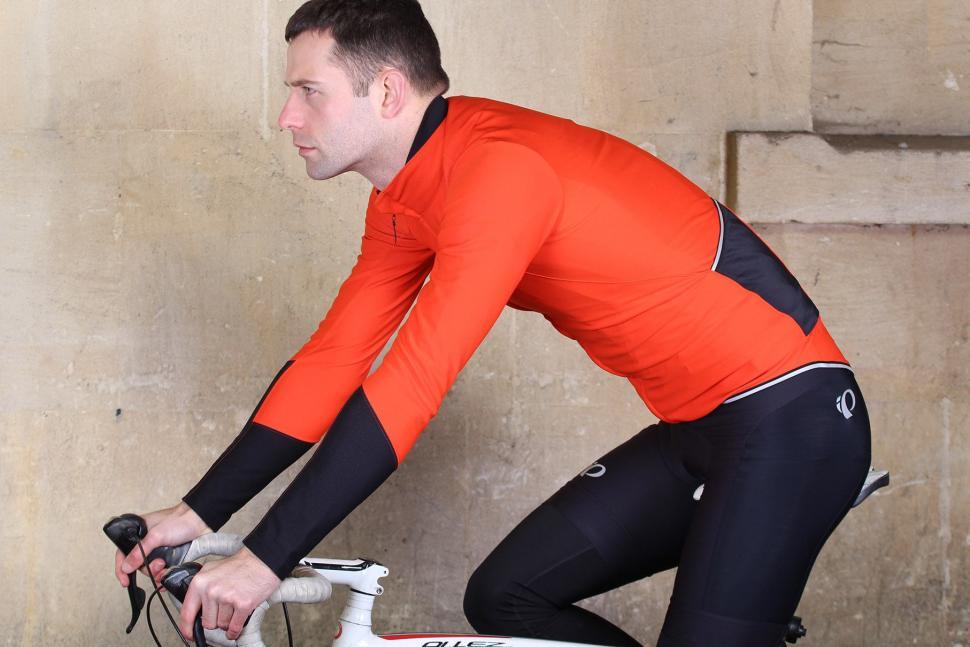 Gore Power Windstopper long sleeve jersey - riding.jpg