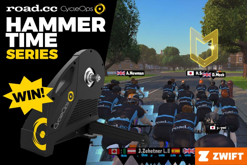 CycleOps Hammer Time header - group workout