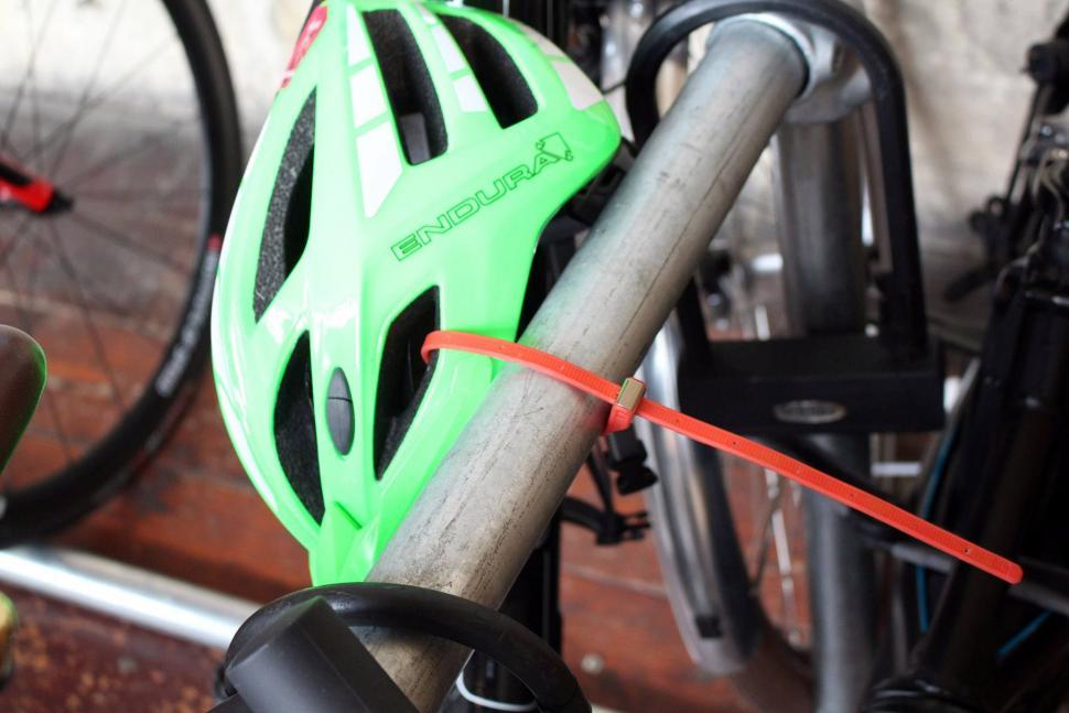 Hiplok Z-Lock Security Ties - locked helmet.jpg