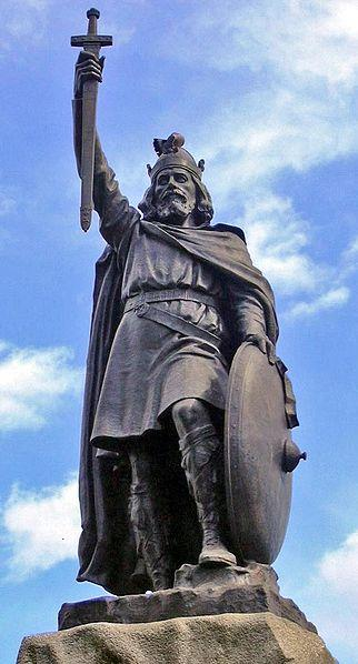 Alfred the Great, Winchester (copyright Odejea:Wikimedia Commons).jpg