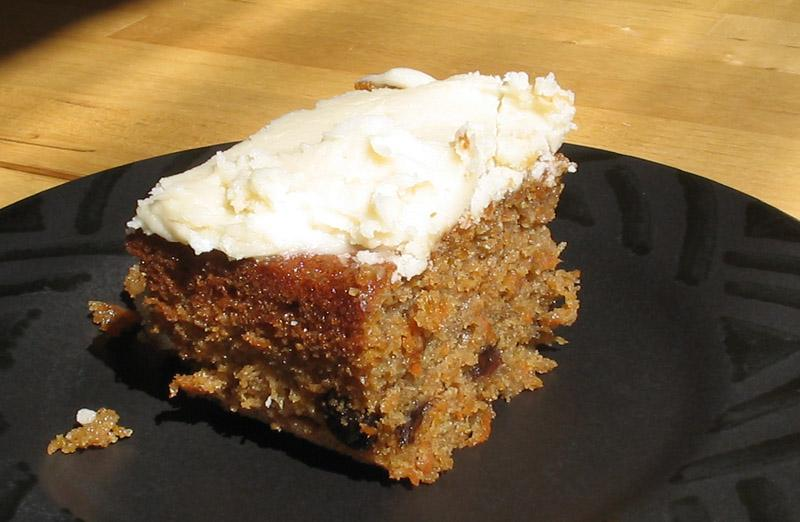 Carrot cake (Photo: David Benbennick)