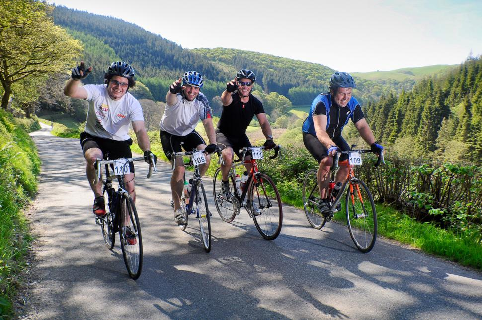 1st CycleOps Power Road Sportive in Builth Wells last Saturday 22th May  / Jon Brooke
