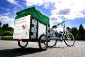 Waitrose electric bike cart