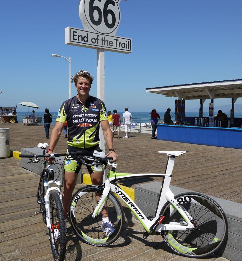 James Cracknell race across America