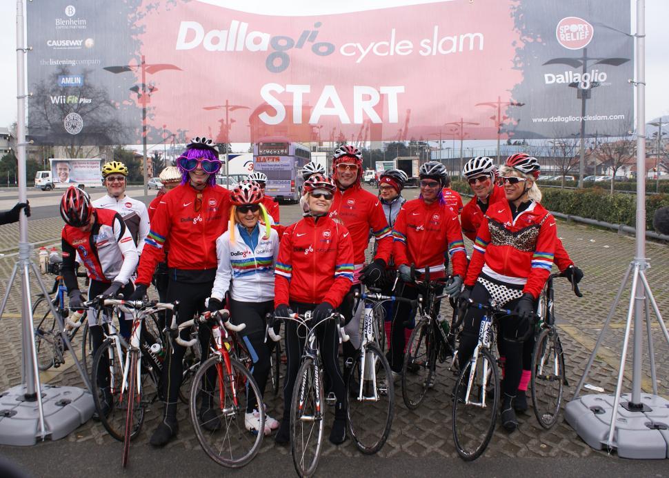 Lawrence Dallaglio Cycle Slam Twickenham.JPG