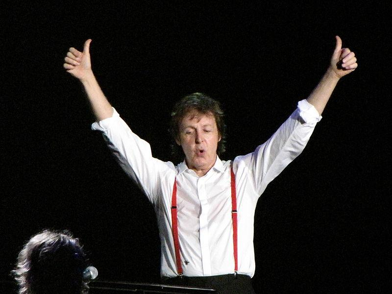 Paul McCartney gives music the thumbs-up, but Soho cyclist the thumbs-down.jpg