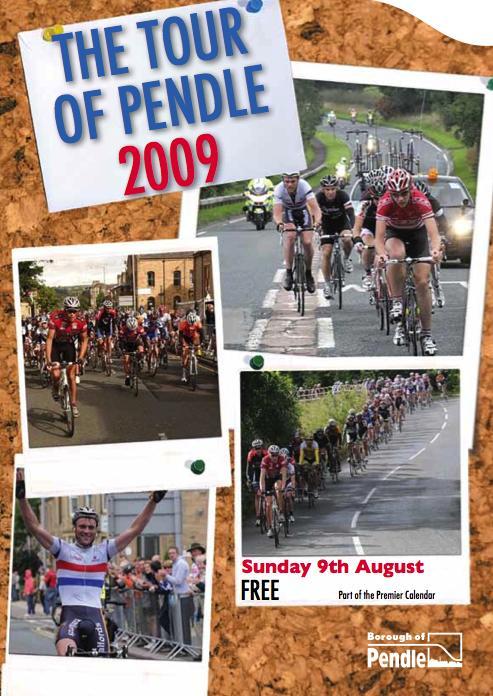 Tour of Pendle 2009 leaflet