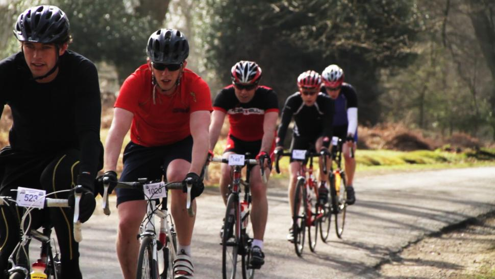 New Forest Spring Sportive 2010, the first in the Wiggle Super Series and sponsored by Verenti Bikes