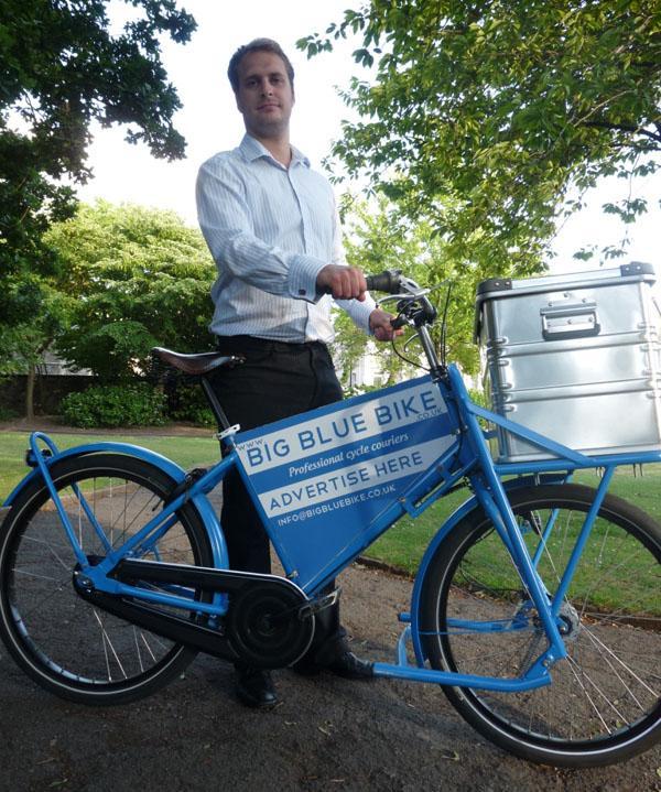 Big Blue Bike's Ben Allen
