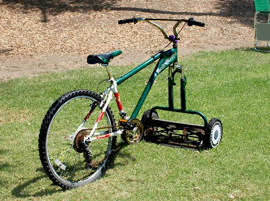 Lawnmower bike