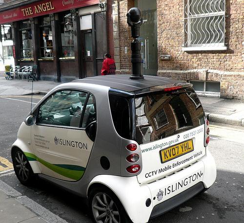 Surveillance Smart Car (photo: Cory Doctorow)