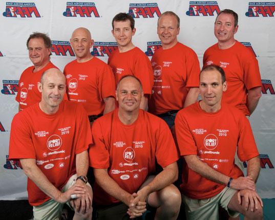 Sir Steve Redgrave Crew (pic credit: www.raceacrossamerica.org)
