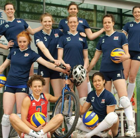 Volleyball GB womens team