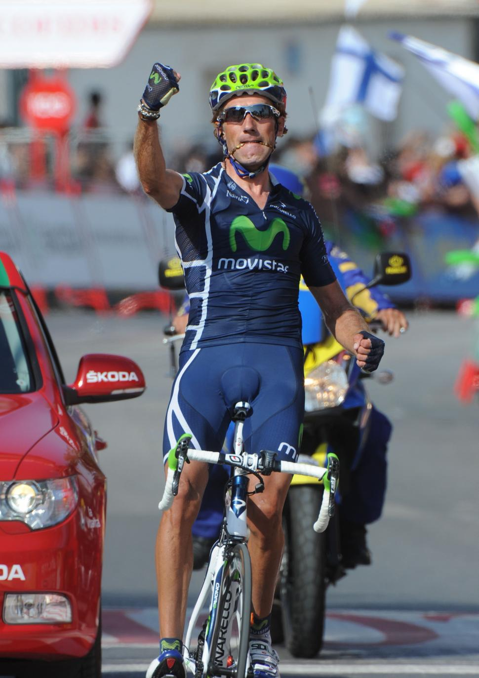 Pablo Lastras wins Stage 3 of the 2011 Vuelta (copyright Tour of Spain/Graham Watson).jpg
