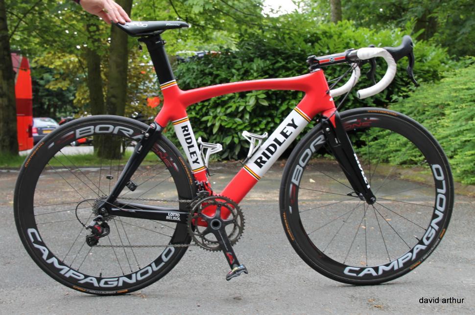 Tour De France Tech 2014 Andre Greipel S Ridley Noah Fast