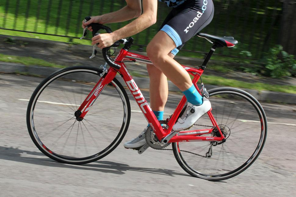 BMC Teammachine SLR03 - riding 3